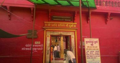 durga mata mandir also known as durga kund dedicated to hindu goddess maa durga. it was constructed in 18th century.